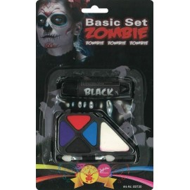 Kit maquillage zombie adulte