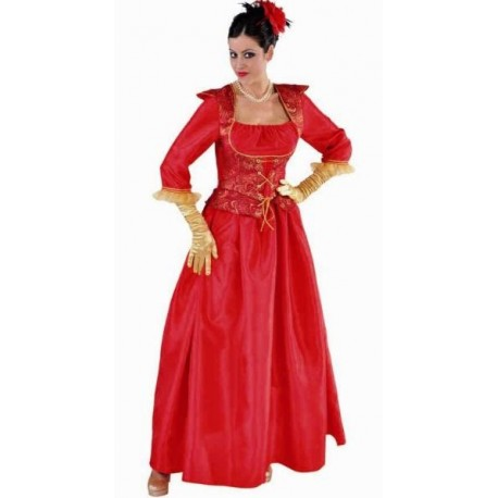 Déguisement Marquise Rouge Adulte Deluxe