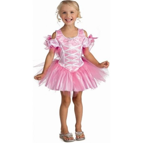 Déguisement Ballerine Tiny Dancer rose enfant fille