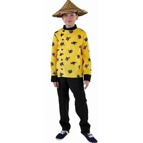 Déguisement chinois garçon luxe