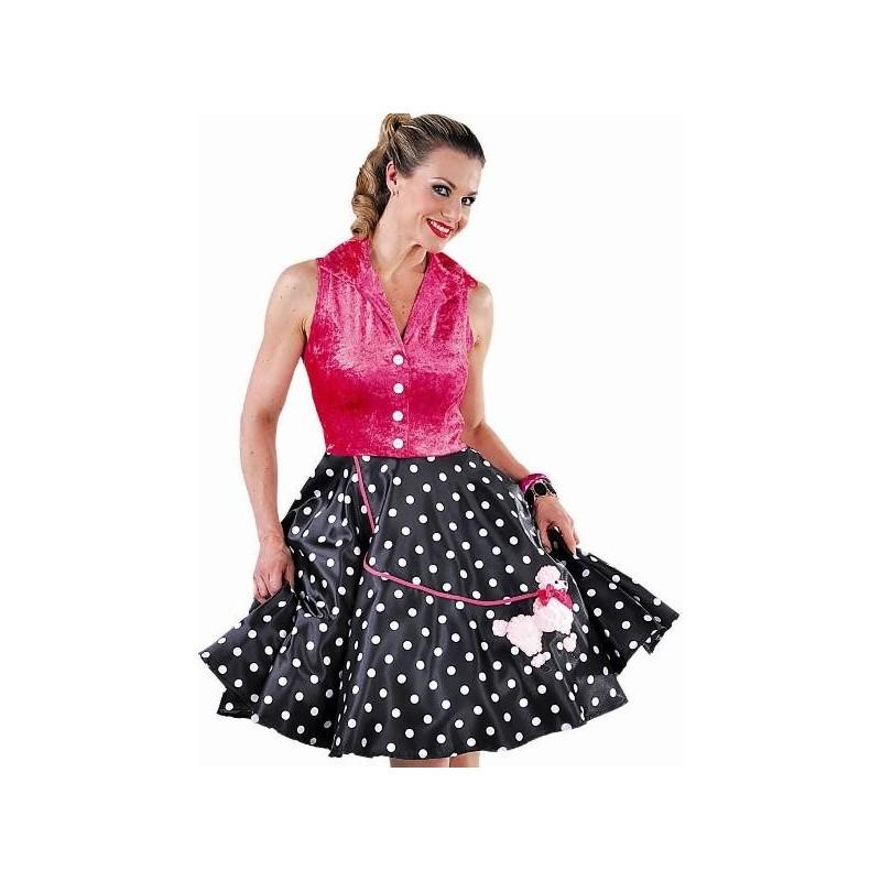 costume robe rock 39 n roll luxe femme ann es 50 60. Black Bedroom Furniture Sets. Home Design Ideas