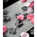 Pétales Noires Avec Feuilles Les 100