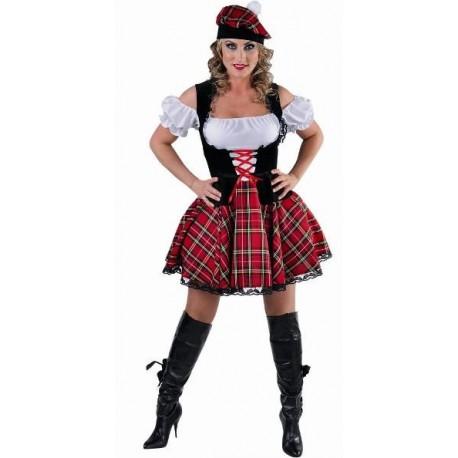 Déguisement écossaise femme luxe