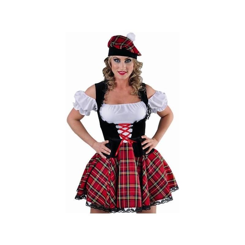 deguisement fille ecossaise