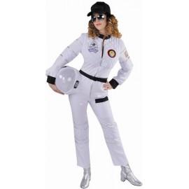 Déguisement astronaute femme deluxe