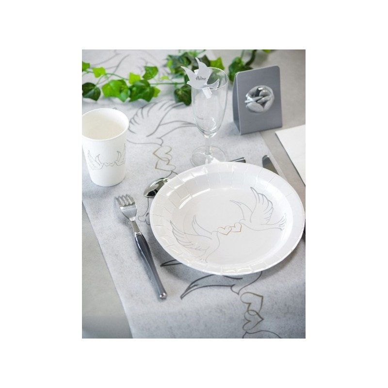 Colombes Carton Blanc 22.5 Cm Les 10