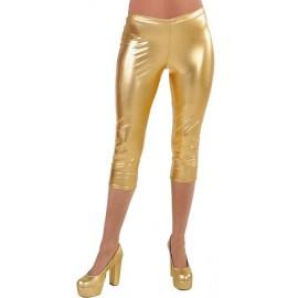 Déguisement Legging court or spandex Femme Luxe