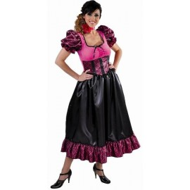 Déguisement saloon lady chic femme deluxe