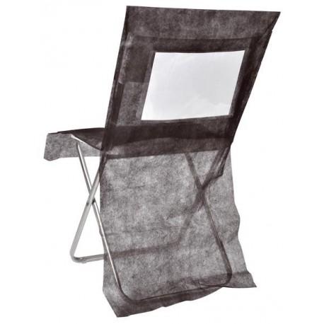 housse de chaise intiss couleur personnalisable les 10. Black Bedroom Furniture Sets. Home Design Ideas