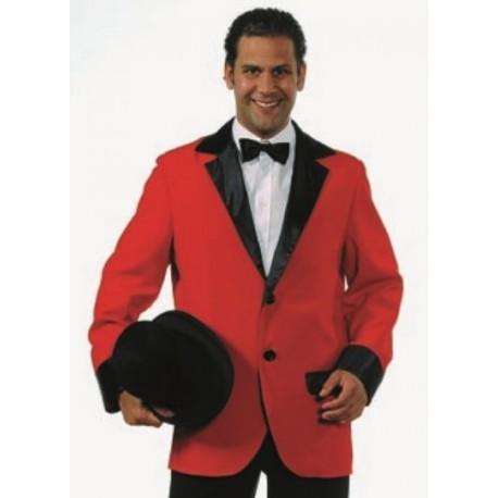 Déguisement Veste Colbert rouge homme luxe