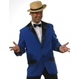 Déguisement Veste Colbert Bleu Cobalt homme luxe
