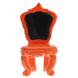 Marque place chaise baroque orange les 2