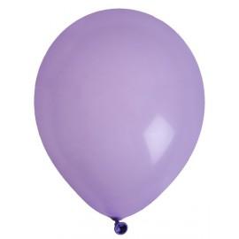 Ballons parme uni 23 cm les 8 ballons de baudruche
