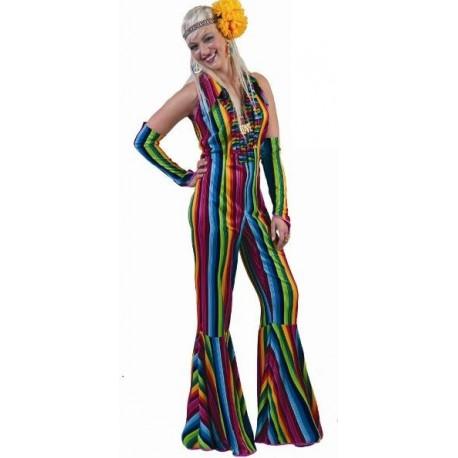 Déguisement hippie femme années 70's