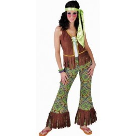 Déguisement hippie Summer of love femme luxe