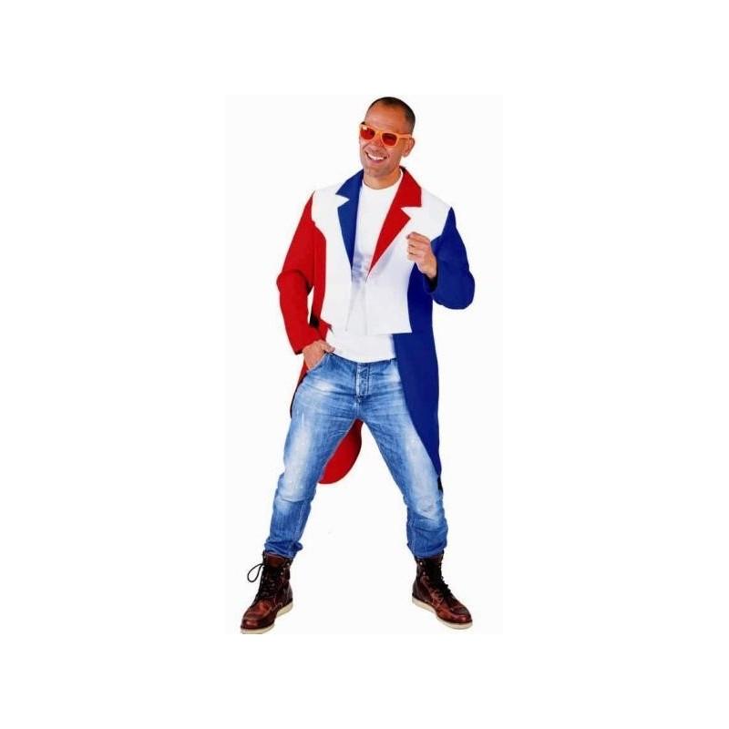 dguisement queue de pie rouge blanc bleu homme luxe - Costume Mariage Homme Queue De Pie