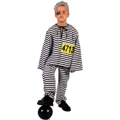 Déguisement prisonnier enfant luxe