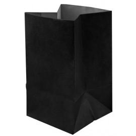 Photophore papier noir ignifugé 10 cm les 6