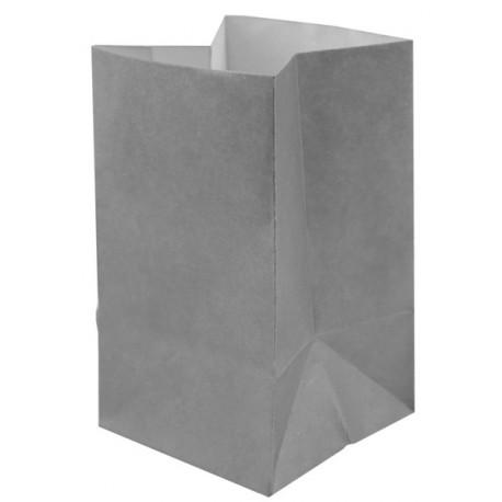 Photophores papier gris ignifugé 10 cm les 60
