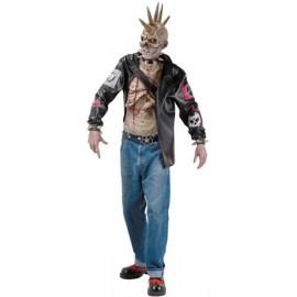 Déguisement Punk zombie adulte