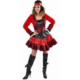 Déguisement pirate baroque femme luxe