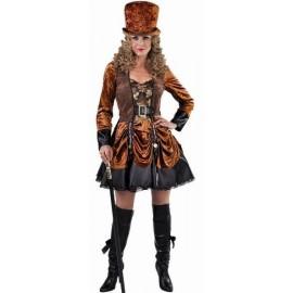 Déguisement Steampunk Victorien femme luxe