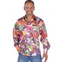 Déguisement 70's chemise hippie chic fun homme luxe