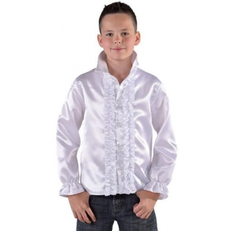 Déguisement chemise disco blanche enfant