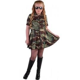 Déguisement militaire fille deluxe