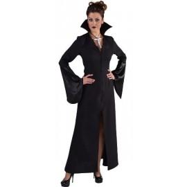 Déguisement vampire noir femme Halloween sexy deluxe