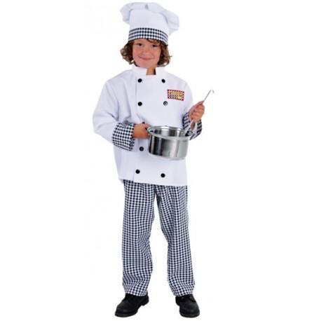 Déguisement chef cuisinier enfant luxe
