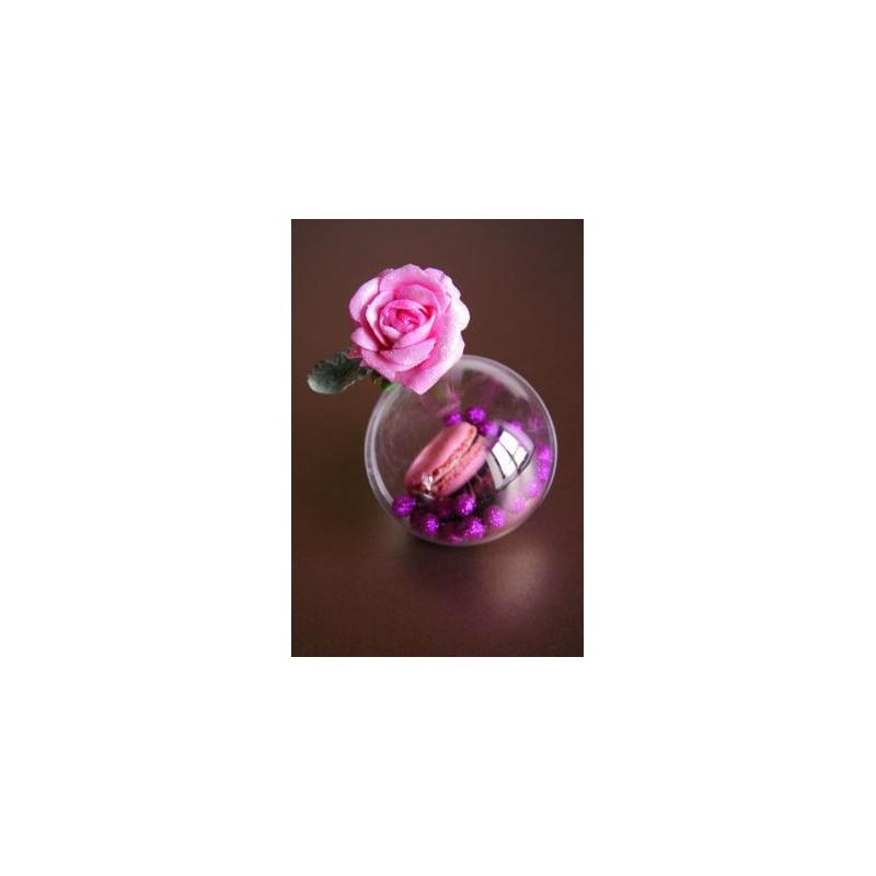 boule transparente 5 cm boule plexi transparente boule plastique. Black Bedroom Furniture Sets. Home Design Ideas
