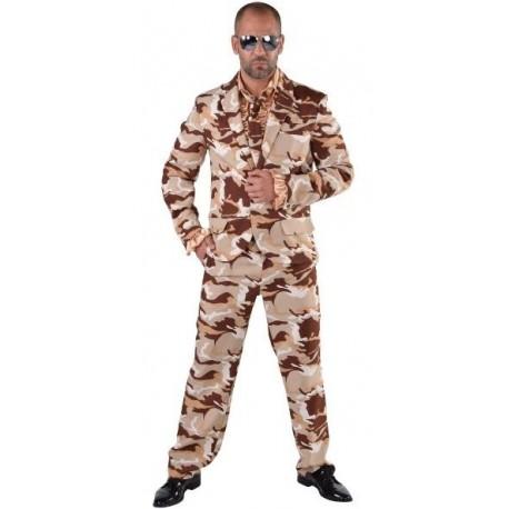Déguisement costume Desert Storm homme luxe