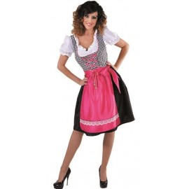 Déguisement bavaroise Dirndl femme luxe