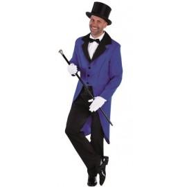 Déguisement queue de pie bleue homme luxe