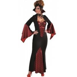 Déguisement vampire baroque femme luxe