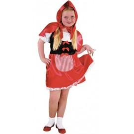 Déguisement petit chaperon rouge fille luxe