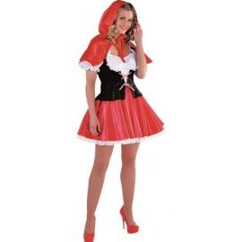 Déguisement chaperon rouge femme luxe