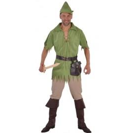 Déguisement robin des bois homme luxe vert