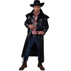 Déguisement Manteau cowboy homme luxe noir