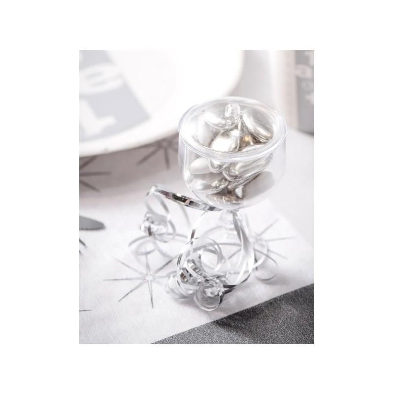 bo te drag es mini coupe transparente et couvercle les 20. Black Bedroom Furniture Sets. Home Design Ideas