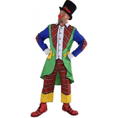 Déguisement clown Pipo homme luxe