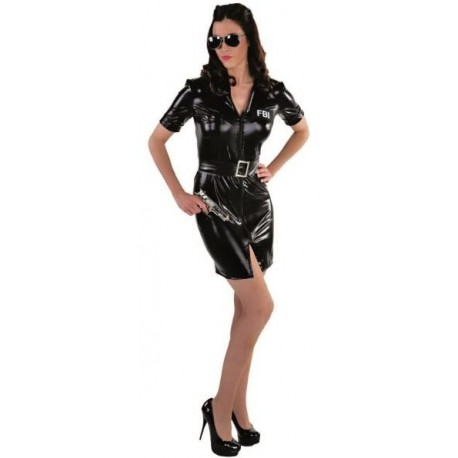Déguisement FBI femme luxe