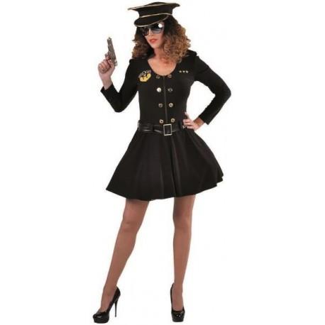 Déguisement policier femme luxe