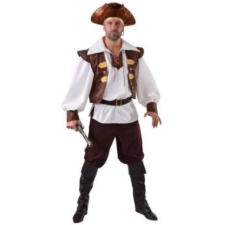 Déguisement pirate corsaire homme luxe