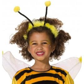 Serre-tête abeille antennes d'abeille enfant