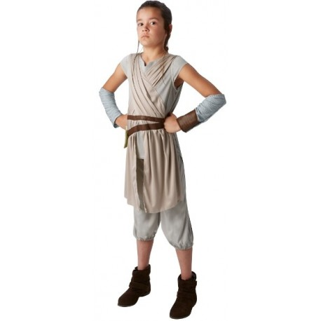 Déguisement Rey Star Wars VII enfant luxe Disney