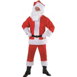 Costume Père Noël Luxe Santa Claus Adulte
