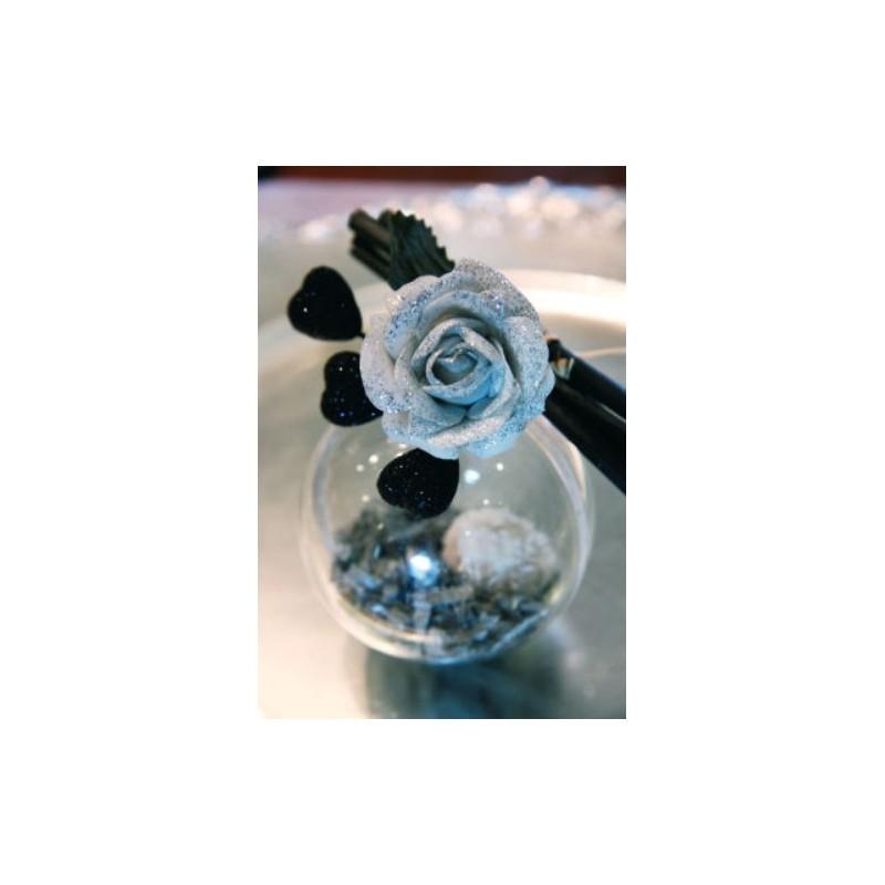 boule transparente 8 cm boule plexi boule plastique. Black Bedroom Furniture Sets. Home Design Ideas