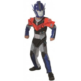Déguisement Optimus Prime Transformers garçon luxe